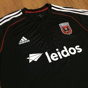03ab724635b adidas Shirts - DC United MLS Soccer Men XL Training Adidas Jersey